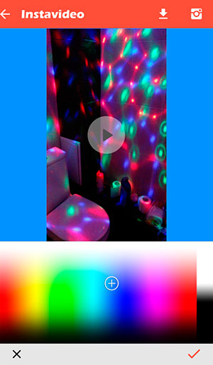 Video processing for Instagram on InstaVideo