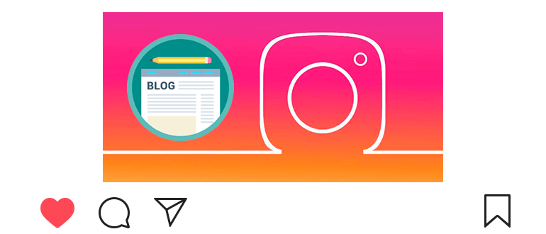 How to make a personal blog on Instagram