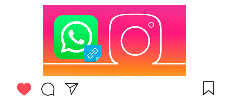How to link to WhatsApp on Instagram