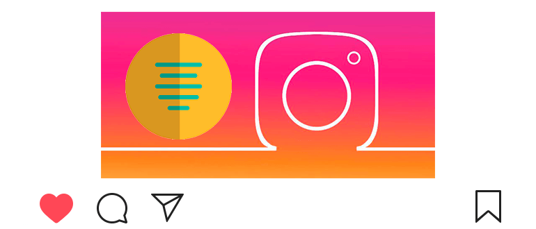How to make text centered on Instagram