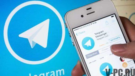 Telegram official version in Russian