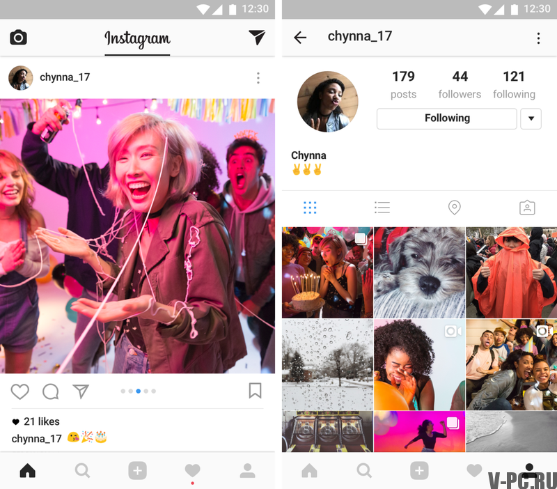 how to upload photos on instagram