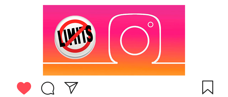 Limits and restrictions on Instagram