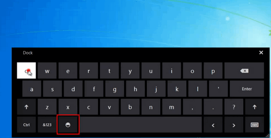 Keyboard with emoticons Windows 10 Instagram